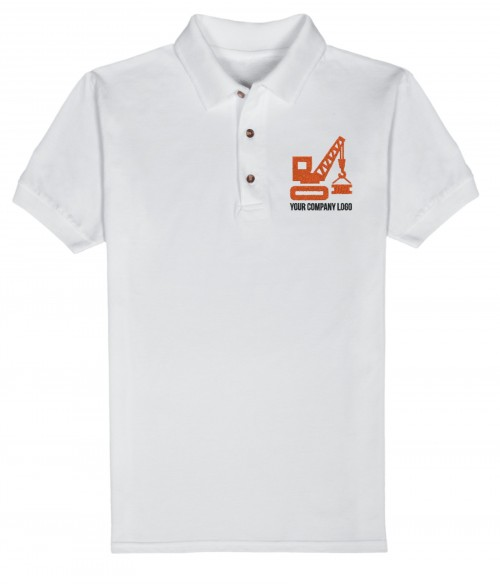 Mens Polo w Logo